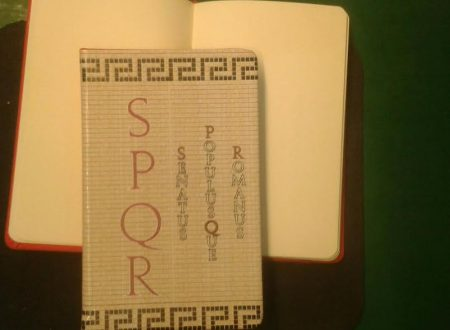 SPQR block notes