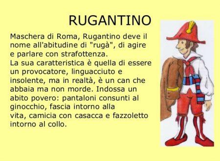 Curiosità romane ;RUGANTINO