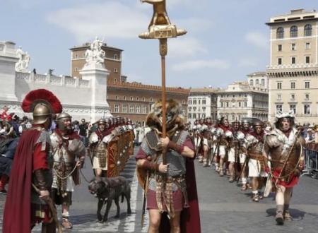 21 aprile  (753 A.C.),  il Natale di Roma