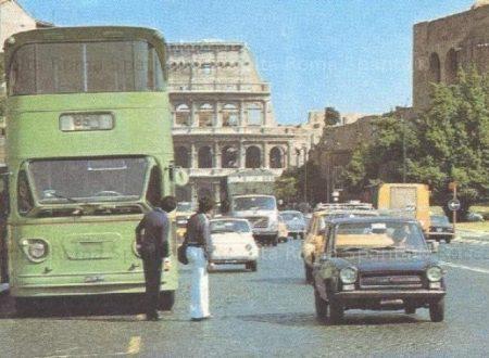 Ricordi di Roma, gli autobus a due piani