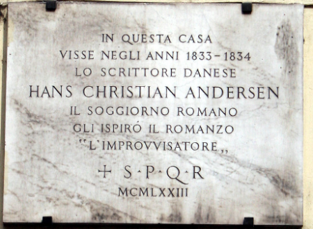 CURIOSITA' ROMANE-HANS CHRISTIAN ANDERSEN