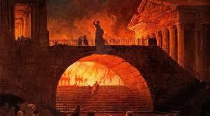 Nerone e l' Incendio di Roma